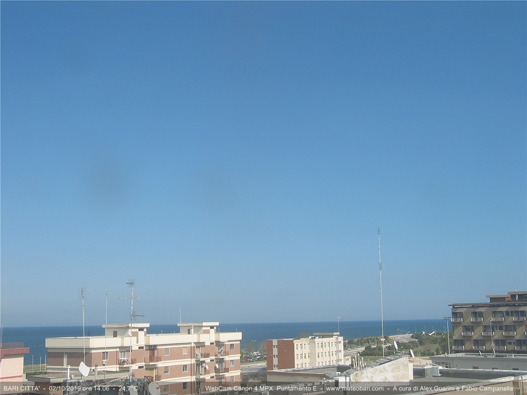 Webcam For The Port Of Bari