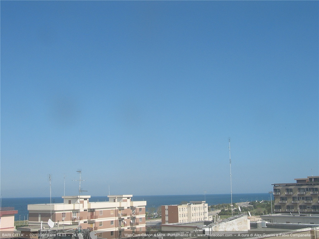 Webcam Bari - Meteo Bari